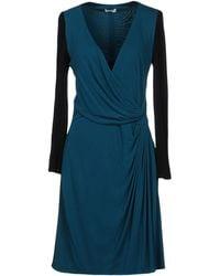 Issa Short Dress - Blue