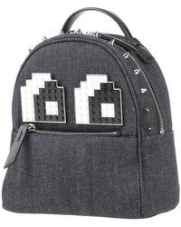 Les Petits Joueurs Backpacks & Bum Bags - Blue