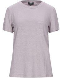 Theory T-shirt - Purple