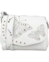 Tosca Blu Cross-body Bag - White