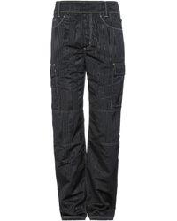 Marine Serre Trousers - Black