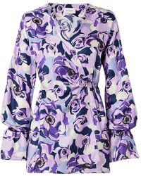 Art Dealer Short Dress - Purple