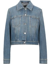 Stella McCartney - Manteau en jean - Lyst