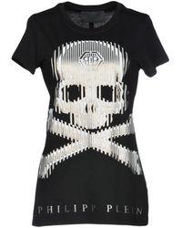 Philipp Plein Camiseta - Negro