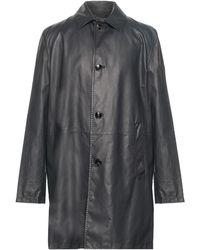 Kiton Overcoat - Grey