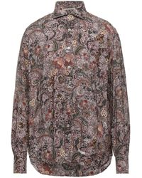 Tintoria Mattei 954 Shirt - Brown