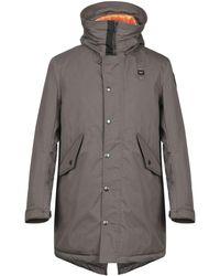 Blauer Down Jacket - Grey