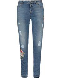 Mason's Pantalon en jean - Bleu