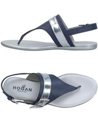 Hogan Sandalias de dedo - Azul
