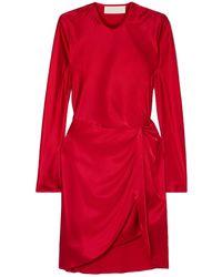 Michelle Mason Vestito corto - Rosso