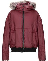 Bikkembergs Down Jacket - Red