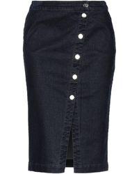 Manila Grace Denim Skirt - Blue