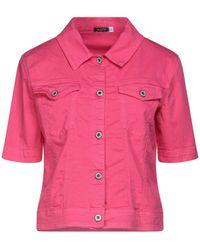 Please Denim Outerwear - Pink