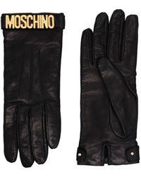 Moschino Gloves - Black