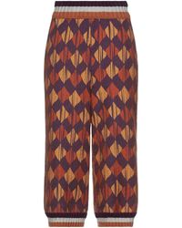 Ballantyne Cropped Pants - Multicolor