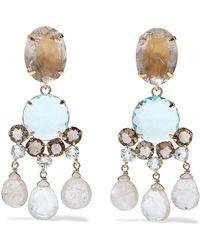 Bounkit Earrings - Blue