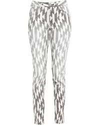 Étoile Isabel Marant Pantalon en jean - Blanc