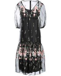 Blugirl Blumarine 3/4 Length Dress - Black