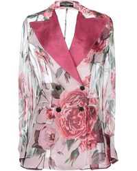 Dolce & Gabbana Suit Jacket - Red
