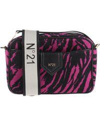 N°21 Cross-body Bag - Purple
