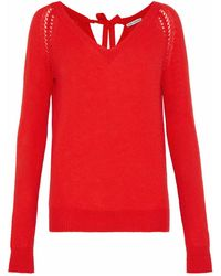 Autumn Cashmere Pullover - Rojo