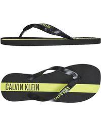 Calvin Klein - Sandalias de dedo - Lyst