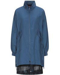 MAX&Co. Overcoat - Blue