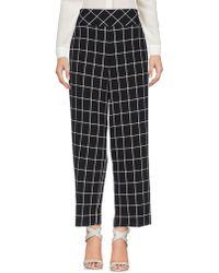Annarita N. Casual Trousers - Black