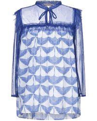 Sete Di Jaipur Bluse - Blau