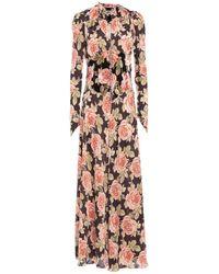 Paco Rabanne Long Dress - Multicolour