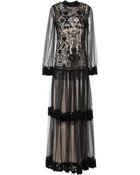 Class Roberto Cavalli Long Dress - Black