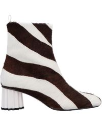 Salar Ankle Boots - White