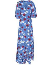 Anonyme Designers 3/4 Length Dress - Blue