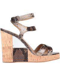 Ferragamo Sandals - Natural