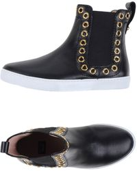 Boutique Moschino High-tops & Sneakers - Black