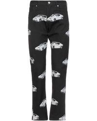 Versace - Pantalon en jean - Lyst