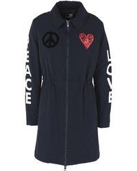 Love Moschino Coat - Blue