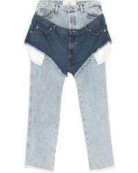 Natasha Zinko Pantaloni jeans - Blu
