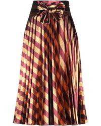 Manila Grace Midi Skirt - Multicolour