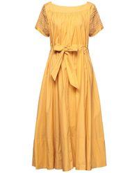 Thierry Colson Midi Dress - Yellow