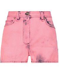 Versace Denim Shorts - Pink