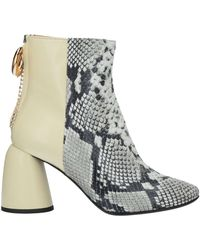 Ellery Ankle Boots - White