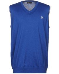 Fred Perry Pullover - Bleu