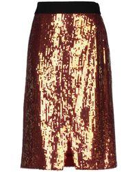 Victoria, Victoria Beckham Midi Skirt - Multicolour