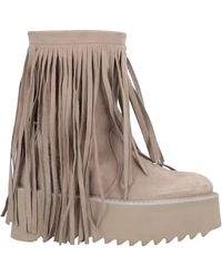 Bruno Bordese Ankle Boots - Natural