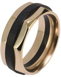 Emporio Armani   Ring   Lyst