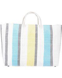 Truss Handbag - White