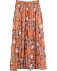 Niu Long Skirt - Orange