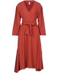 Souvenir Clubbing Vestido a media pierna - Rojo
