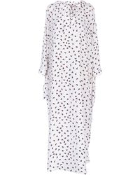 P.A.R.O.S.H. Long Dress - White
